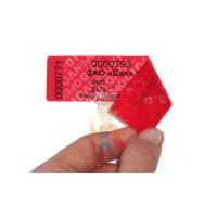 Антимагнитная пломба АМП - Пломба наклейка номерная НН-2, 22х66 мм