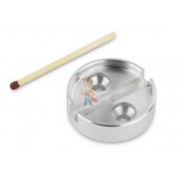Опечатывающее устройство сейфовое тип № 1 - Чашка для опечатывания под нить из алюминия