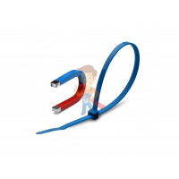 """Стяжки кабельные КСС """"Magnetic"""" 5х370 (син) (100 шт) - Стяжки кабельные КСС """"Magnetic"""" 4х150 (син) (100 шт)"""