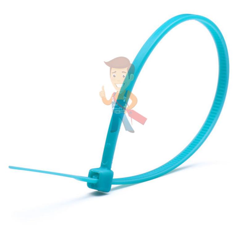 Стяжки нейлоновые КСС 5x300 (син) (100шт)