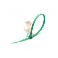 Стяжки нейлоновые КСС 4x200 (зел) (100шт) - Стяжки нейлоновые КСС 3x100 (зел) (100шт)