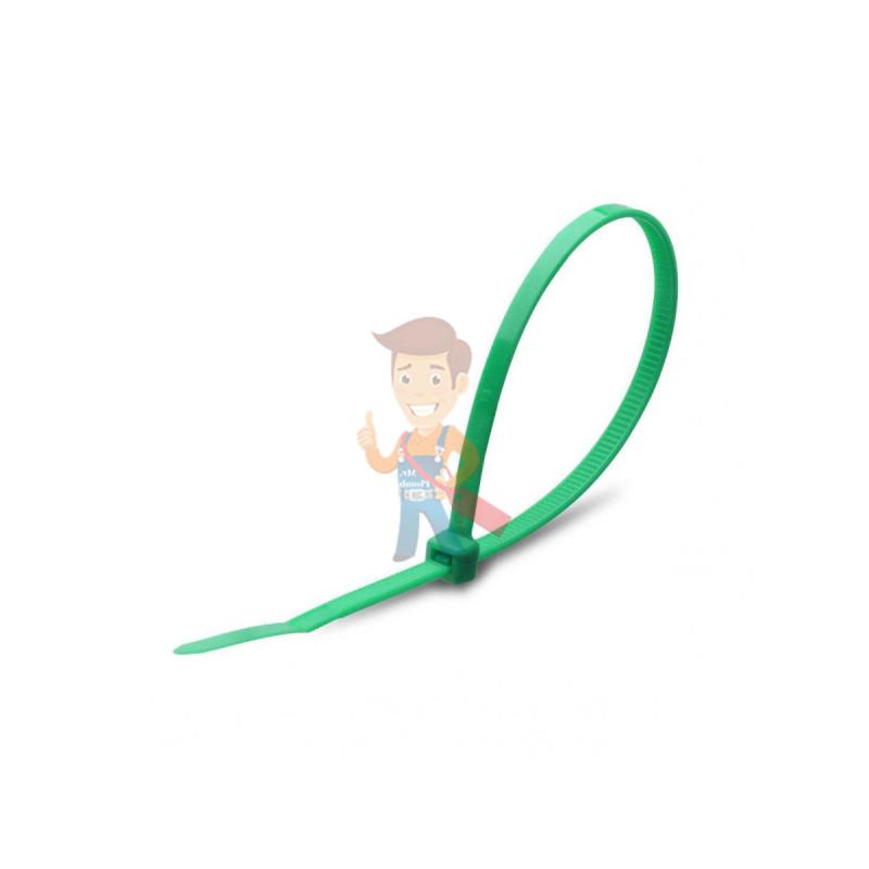 Стяжки нейлоновые КСС 8x400 (зел) (100шт)