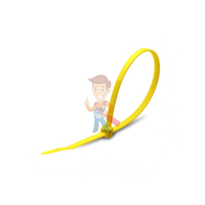 Стяжки нейлоновые КСС 4x200 (ж) (100шт)