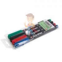 """Фломастер электрика маркировочный ФМ-2,5 (черн.) - Набор фломастеров """"Colorflex"""""""