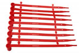 Пластиковые пломбы номерные - КПП 2-2203