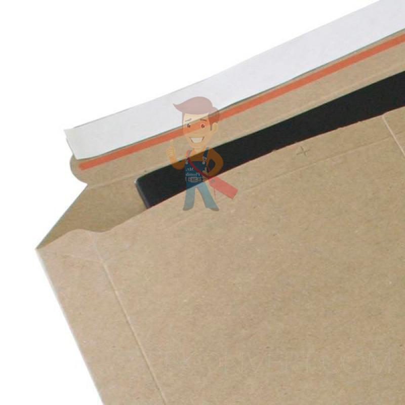 Курьер-пакет S5 175х250 мм из бурого картона 400 г/м2 - фото 3