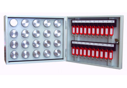 Металлический шкаф на 20 пеналов 270х350х180мм