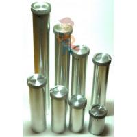 Петли для пломбировки - Пенал для ключей с резьбовой крышкой 40х200 мм