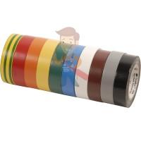 Изолента самослипающаяся резиновая Scotch® 130C, 25 мм х 9,1 м - Изолента ПВХ, набор из 10 шт 15 мм x 10 м, TEMFLEX 1300 KIT 15MM
