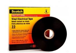 ПВХ изолента высшего класса Scotch® 22, усиленная, 25 мм х 33 м х 0,25 мм
