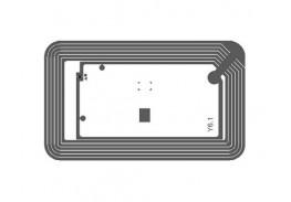 Библиотечная HF RFID метка, 50х80 мм, NXP ICODE SLIX2