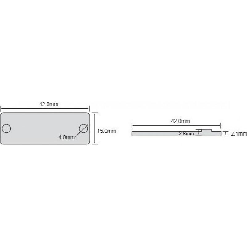 Высокотемпературная UHF RFID метка на металл OPP4215 - фото 5