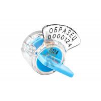 Роторная пломба Ротор-3 - Роторная номерная пломба Ротор-1, синий