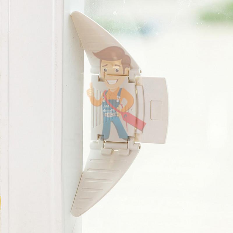 Блокиратор-бабочка для раздвижных окон и шкафов-купе, 2 шт. - фото 1