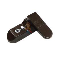 Блокиратор-бабочка для раздвижных окон и шкафов-купе, 2 шт. - Защёлка - блокиратор Sash Lock коричневая
