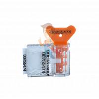 Пломба пластиковая Универсал 320 (320 мм) - Пломба пластиковая номерная Старт, оранжевый