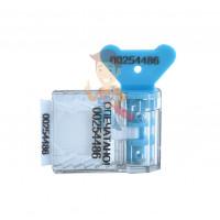 АМ-ТФ (DUAL) - Пломба пластиковая номерная Старт, синий