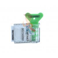 АМ-ТФ (DUAL) - Пломба пластиковая номерная Старт, зеленый