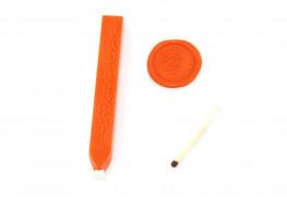 Сургуч с фитилем, оранжевый