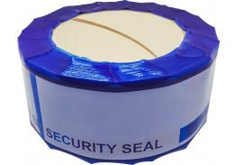 Прочие пломбы - Защитная лента номерная синяя 50х150 мм (50 метров)