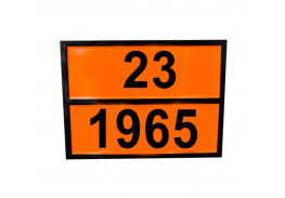 Знаки опасности жд - Знак ООН 23/1965