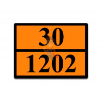 Знак ООН 33/1263 - Знак ООН 30/1202