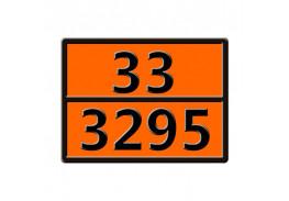 Знаки опасности жд - Знак ООН 33/3295