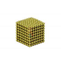 Forceberg Cube - куб из магнитных шариков 5 мм, жемчужный, 216 элементов - Forceberg Cube - куб из магнитных шариков 2,5 мм, оливковый, 512 элементов