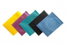 Упаковочные цветные зип пакеты Forceberg HOME & DIY с замком zip-lock 6х7 см, 5 цветов, 100 шт