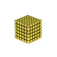 Forceberg Cube - куб из магнитных шариков 5 мм, цветной, 216 элементов - Forceberg Cube - куб из магнитных шариков 6 мм, оливковый, 216 элементов
