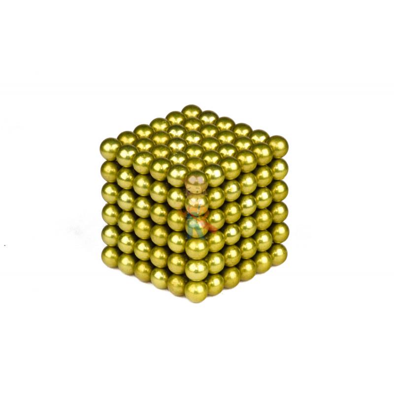 Forceberg Cube - куб из магнитных шариков 6 мм, оливковый, 216 элементов