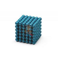 Forceberg TetraCube - куб из магнитных кубиков 6 мм, черный, 216 элементов - Forceberg Cube - куб из магнитных шариков 5 мм, бирюзовый, 216 элементов