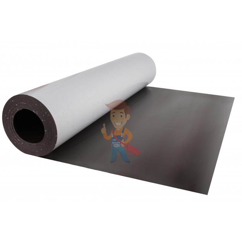 Магнитный винил с клеевым слоем, лист 0.62х5 м, толщина 1.5 мм