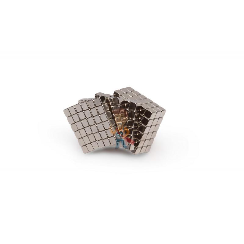 Forceberg TetraCube - куб из магнитных кубиков 4 мм, стальной, 216 элементов - фото 1
