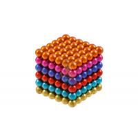 Forceberg Cube - куб из магнитных шариков 5 мм, светящийся в темноте, 216 элементов - Forceberg Cube - куб из магнитных шариков 6 мм, цветной, 216 элементов