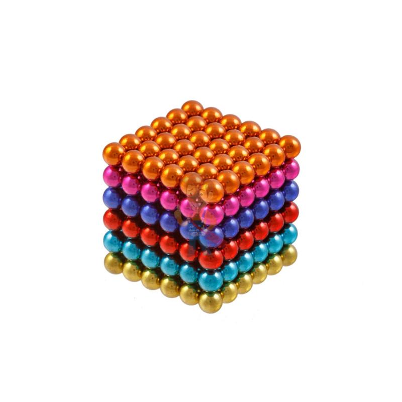 Forceberg Cube - куб из магнитных шариков 6 мм, цветной, 216 элементов