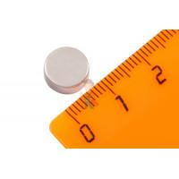 Магнитная застежка 12х2 мм с ПВХ - Неодимовый магнит диск 9.5х4 мм