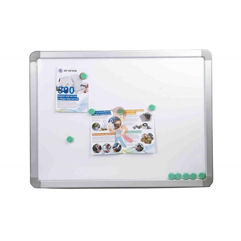 Магнит для магнитной доски FORCEBERG 20 мм, зеленый, 10шт. - фото 4