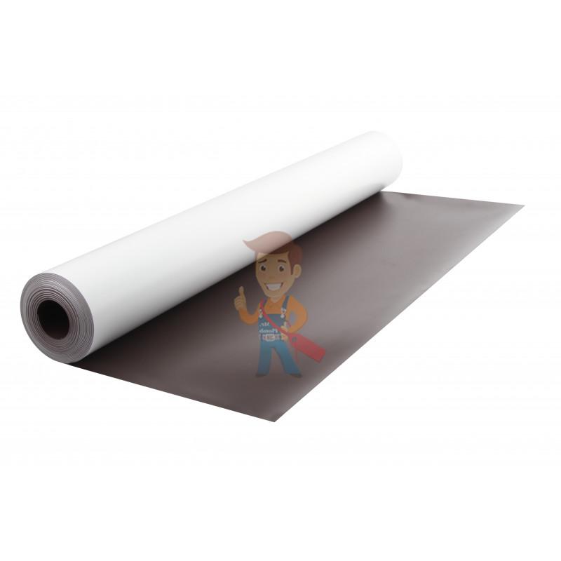 Магнитный винил с ПВХ слоем, лист 0.62х5 м, толщина 0.7 мм