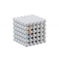 Forceberg Cube - куб из магнитных шариков 6 мм, цветной, 216 элементов - Forceberg Cube - куб из магнитных шариков 6 мм, белый, 216 элементов