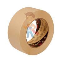 Лента маскирующая Scotch® для грубых поверхностей 24 мм x 55 м - Малярная лента 201E, бежевая, 48 мм х 50 м