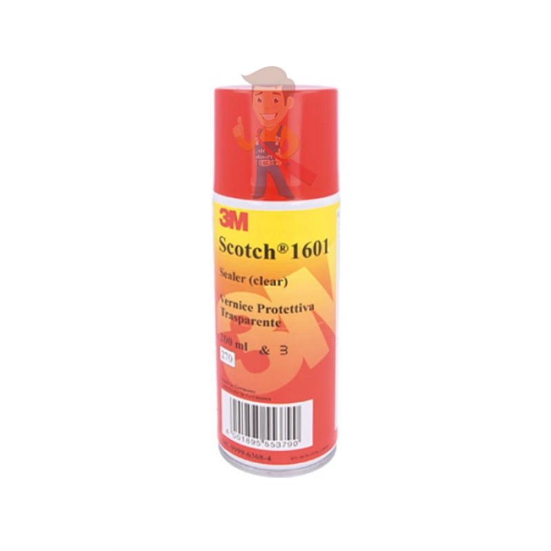 Аэрозоль для изоляции Scotch® 1601, прозрачный, 400 мл