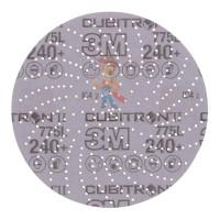 Круг зачистной Silver, Т27 180 мм х 7 мм х 22,23 мм - Шлифовальный круг Клин Сэндинг, 240+, 150 мм, Cubitron™ II, Hookit™ 775L, 5 шт./уп.