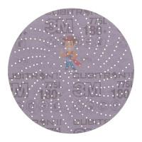 Круг Зачистной  T27, 180 мм х 7,0 мм х 22,23 мм - Шлифовальный круг Клин Сэндинг, 180+, 150 мм, Cubitron™ II, Hookit™ 775L, 5 шт./уп.