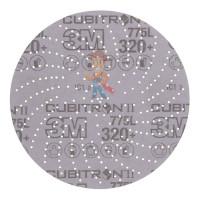 Круг лепестковый торцевой конический 566A  P40, 125 мм х 22 мм - Шлифовальный круг Клин Сэндинг, 320+, 150 мм, Cubitron™ II, Hookit™ 775L, 5 шт./уп.