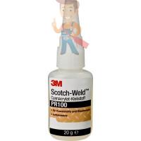 Клей эпоксидный двухкомпонентный, прозрачный, 48,5 мл 3M Scotch-Weld DP100 PLUS - Клей цианоакрилатный Scotch-Weld™, PR100 прозрачный, 20 г
