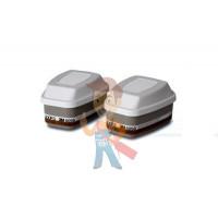 Держатель противоаэрозольных фильтров 3M™ 2135 и 2138 8 шт./уп. - Фильтр комбинированный от газов, паров, аэрозолей, АХРЗ NR упаковка 2 шт.