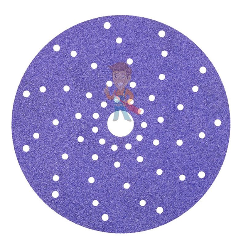 Круг абразивный c мультипылеотводом Purple+, 180+, Cubitron Hookit 737U, 150 мм - фото 1