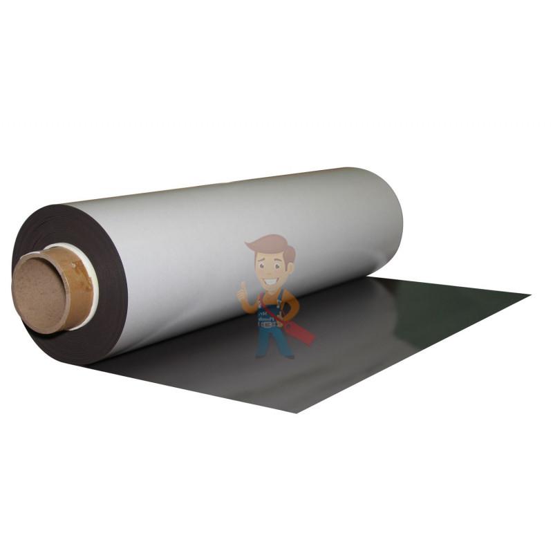 Магнитный винил с клеевым слоем, рулон 0.62х15 м, толщина 1.5 мм