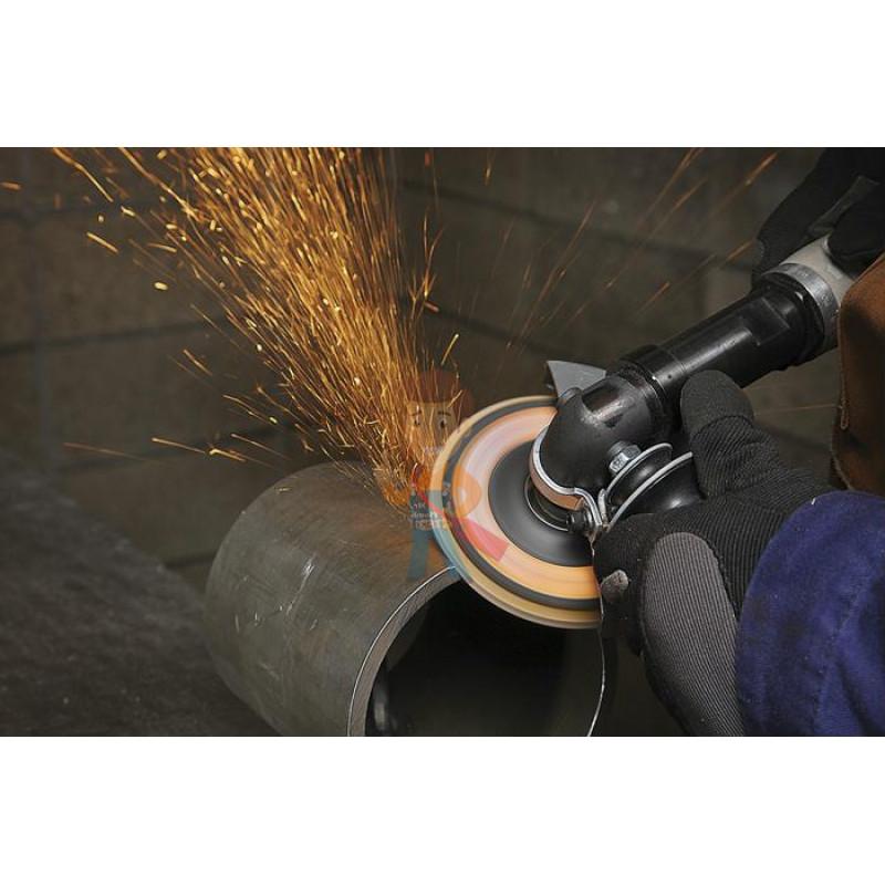 Круг лепестковый торцевой шлифовальный конический 967A, 125 мм х 22 мм, 40+ - фото 3